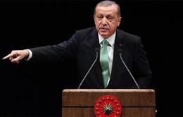 Tổng thống Thổ Nhĩ Kỳ triệu tập cuộc họp an ninh