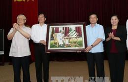 Tổng Bí thư thăm và làm việc tại tỉnh Lai Châu