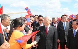 Tổng Bí thư thăm chính thức Lào