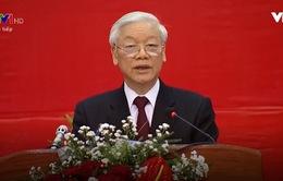 Tổng Bí thư nói chuyện với sinh viên Lào