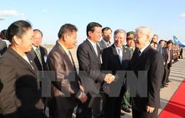 Tổng Bí thư Nguyễn Phú Trọng gửi điện cảm ơn Tổng Bí thư, Chủ tịch nước Lào