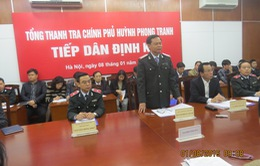 Tổng Thanh tra Chính phủ Huỳnh Phong Tranh tiếp công dân định kỳ