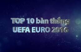 UEFA EURO 2016: Top 10 bàn thắng đẹp nhất