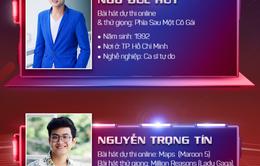 Lộ diện hai thí sinh đầu tiên bước vào Vòng giấu mặt Giọng hát Việt 2017