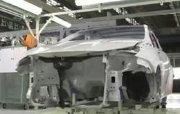 Toyota ngừng sản xuất 1 tuần do thiếu thép làm khung xe
