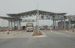 Trạm thu phí Mỹ Lộc - Nam Định quay lại mức phí cũ từ ngày 9/6