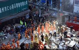 Sập nhà tại Trung Quốc, 8 người thiệt mạng
