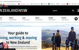 Website nhập cư của New Zealand có lượng truy cập tăng đột biến