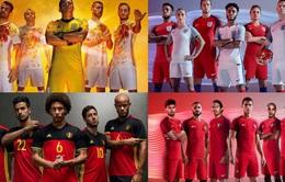 EURO 2016: Câu chuyện về những chiếc áo đấu