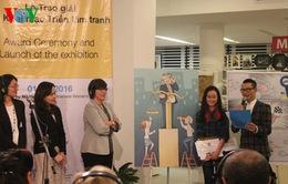 Cô giáo tiếng Anh đoạt giải Nhất Cuộc thi tranh Hý họa về Bình đẳng giới