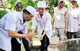 Người dân Quảng Bình phòng tránh nguy cơ lây lan dịch bệnh sau lũ