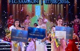 Trần Thị Thu Ngân đăng quang Hoa hậu Bản sắc Việt toàn cầu