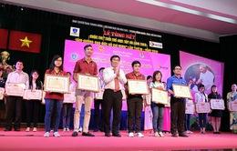 """Trao giải cuộc thi """"Tuổi trẻ học tập và làm theo tấm gương đạo đức Hồ Chí Minh"""""""