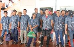 Indonesia trao trả 39 ngư dân Việt Nam