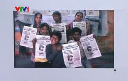 Thăm toà soạn báo của trẻ em cơ nhỡ tại Ấn Độ