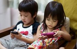 Hạn chế thời gian xem các thiết bị điện tử với trẻ em