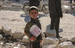 Jordan cho phép trẻ tị nạn Syria được đến trường