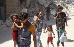 Hơn 28 triệu trẻ em rời bỏ nhà cửa do xung đột