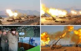 Triều Tiên bắn 3 quả tên lửa đất đối không ra biển