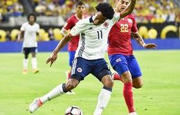 VIDEO Colombia 2-3 Costa Rica: Tuột ngôi đầu trong mưa bàn thắng