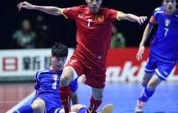 ĐT futsal Việt Nam - ĐT Thái Lan: Vì tấm huy chương lịch sử (18h00, 21/2)