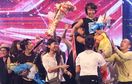 """""""Thiên hạ đệ nhất trống"""" Trọng Nhân lên ngôi quán quân Vietnam's Got Talent 2016"""