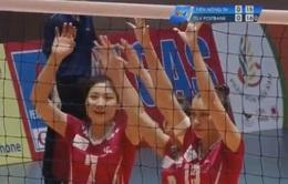 Giải bóng chuyền VĐQG: Thông tin Liên Việt Postbank vững ngôi đầu bảng B