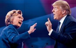 Cuộc tranh luận của hai ứng viên Tổng thống Mỹ thành show truyền hình hot