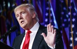 Tổng thống đắc cử Donald Trump tuyên bố từ bỏ công việc kinh doanh