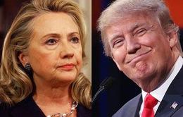 Bầu cử Tổng thống Mỹ: Bà Clinton và ông Trump tiếp tục chiến thắng