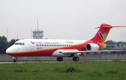 Máy bay thương mại do Trung Quốc sản xuất thực hiện chuyến bay đầu tiên