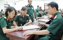 Từ 10/3 tổ chức sơ tuyển vào khối trường Quân đội