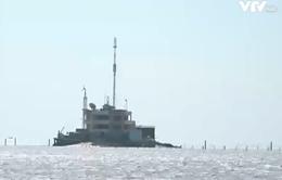 Khám phá Trường Sa qua hành trình vượt biển của con tàu 571