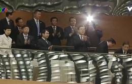 Ủy viên trưởng nhân đại Trung Quốc dự khán họp Quốc hội