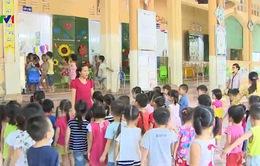 Thiếu trường mầm non tại xã Tam Hiệp, Hà Nội