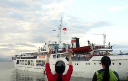 Khởi hành các chuyến đi thăm, chúc Tết tại huyện đảo Trường Sa
