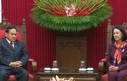 Đồng chí Trương Thị Mai tiếp Phó trưởng Ban Đối ngoại Trung ương Đảng Nhân dân Campuchia