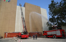 Đài Truyền hình Việt Nam diễn tập phòng cháy chữa cháy