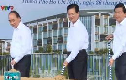 Thủ tướng dự lễ khởi công các công trình dân sinh trọng điểm tại TP.HCM