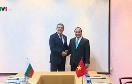 Thủ tướng hội kiến Tổng thống Bulgaria