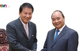 Thủ tướng tiếp Đại sứ hữu nghị đặc biệt Việt - Nhật