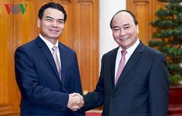 Thủ tướng tiếp Chủ nhiệm Văn phòng Thủ tướng Lào