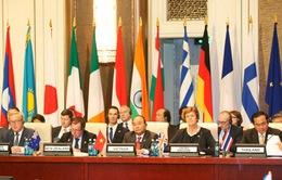 Thủ tướng Nguyễn Xuân Phúc hội kiến các nhà lãnh đạo ASEM