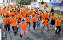 3.000 người đi bộ đồng hành vì nạn nhân chất độc da cam