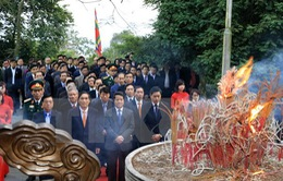 Tổ chức lễ dâng hương tưởng niệm các Vua Hùng tại Phú Thọ