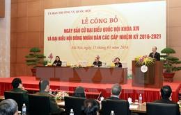 Toàn văn Nghị quyết về Ngày bầu cử ĐBQH và đại biểu HĐND