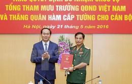 Trao quyết định bổ nhiệm Tổng Tham mưu trưởng QĐND Việt Nam