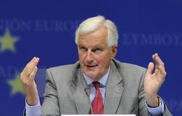 EU muốn hoàn tất đàm phán Brexit trước tháng 10/2018