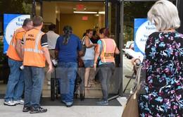 Bầu cử Mỹ 2016: Khoảng 41 triệu cử tri đi bỏ phiếu sớm