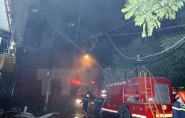 Quán karaoke bị cháy trên phố Nguyễn Khang chưa được cấp phép kinh doanh